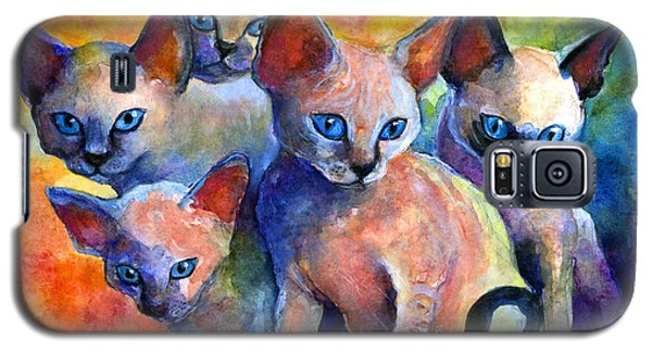Devon Rex Kitten Cats Galaxy S5 Case