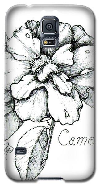 Dew Kissed Camellia Galaxy S5 Case