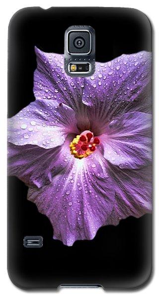 Dew Kissed Hibiscus Galaxy S5 Case