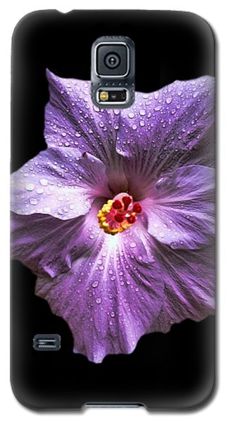 Dew Kissed Hibiscus Galaxy S5 Case
