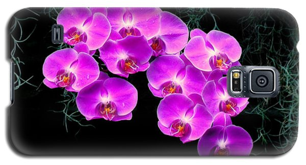 Dew-kissed Orchids Galaxy S5 Case