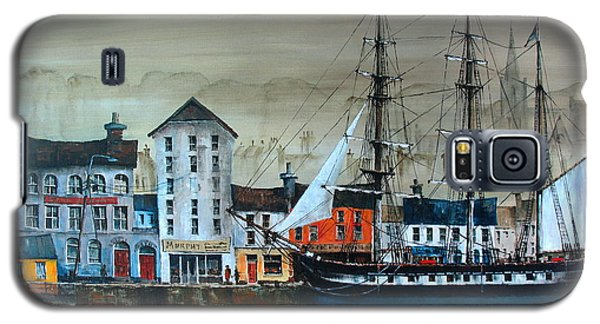 Ireland Canada Links.. The'' Dunbrody'' Famine Ship In New Ross, Wexford Galaxy S5 Case