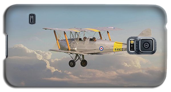 Galaxy S5 Case featuring the digital art Dh Tiger Moth - 'first Steps' by Pat Speirs