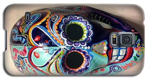 Colorful Life Mask Adode Homes Auction Galaxy S5 Case by Patti Schermerhorn