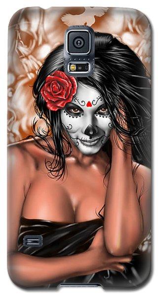 Dia De Los Muertos Remix Galaxy S5 Case