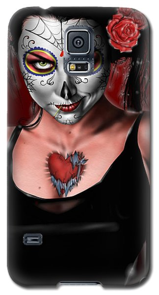 Dia De Los Muertos The Vapors Galaxy S5 Case