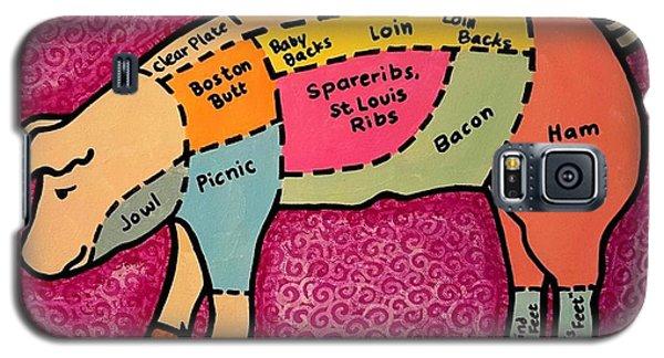 Diagramed Pig Galaxy S5 Case