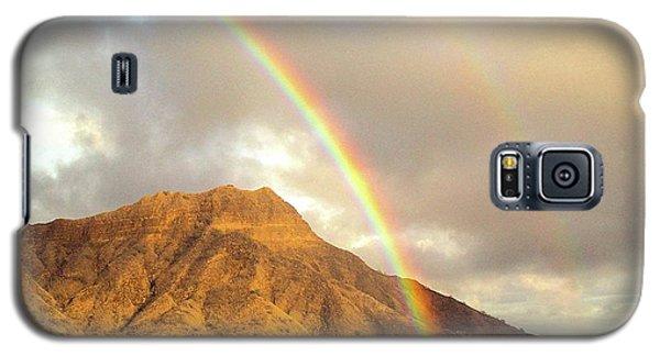 Diamond Head Crater - Double Rainbow Galaxy S5 Case