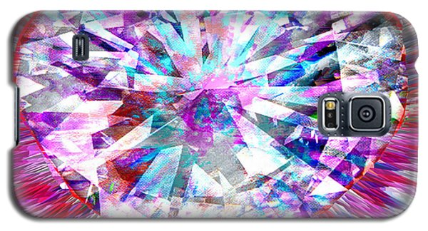 Diamond Heart Galaxy S5 Case by Seth Weaver