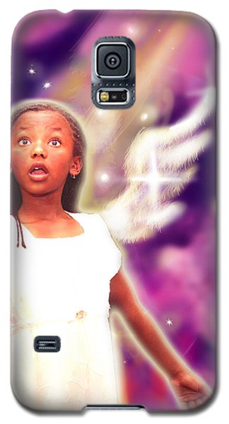 Diamond.angelic 3 Galaxy S5 Case by Nada Meeks