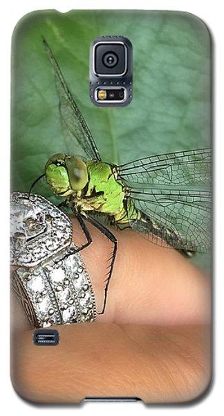 Diamonds Are A Dragonflies Best Friend Galaxy S5 Case