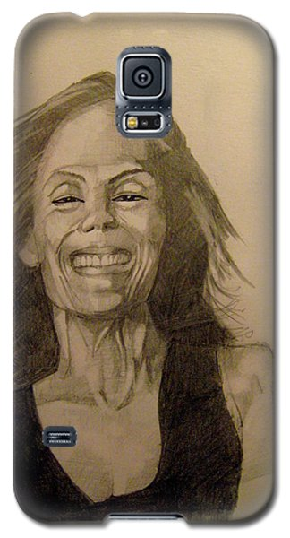 Galaxy S5 Case featuring the painting Diana by Ray Agius