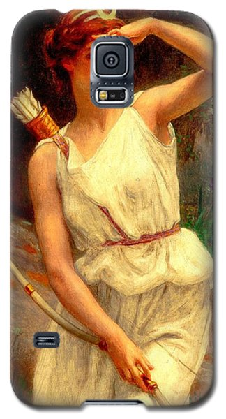 Diana The Huntress Guillaume Seignac  Galaxy S5 Case