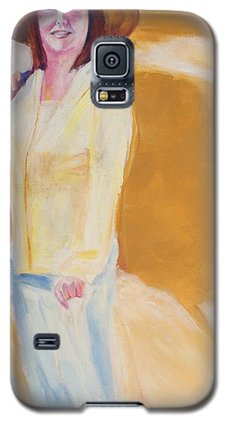 Galaxy S5 Case featuring the painting Diane by Eric  Schiabor