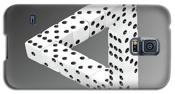 Dice Illusion Galaxy S5 Case by Shane Bechler