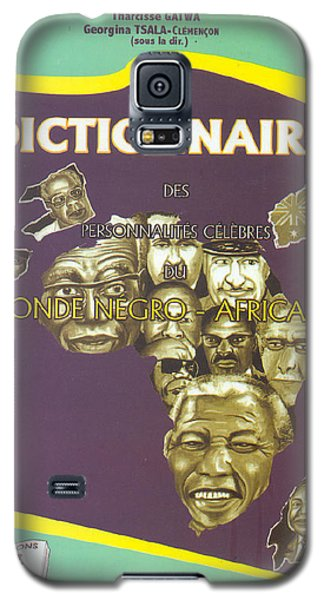 Galaxy S5 Case featuring the painting Dictionary Of Negroafrican Celebrities 1 by Emmanuel Baliyanga