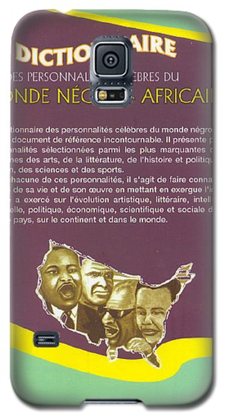 Galaxy S5 Case featuring the painting Dictionary Of Negroafrican Celebrities 2 by Emmanuel Baliyanga