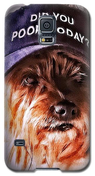 Did You Poop Today Galaxy S5 Case