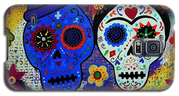 Diego Rivera And Frida Kahlo Dia De Los Muertos Galaxy S5 Case