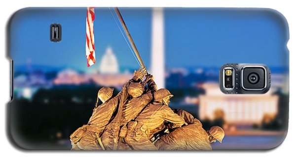 Digital Composite, Iwo Jima Memorial Galaxy S5 Case