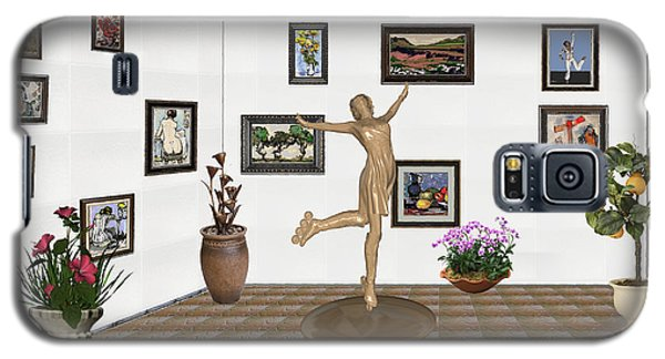 digital exhibition _ A sculpture of a dancing girl 11 Galaxy S5 Case by Pemaro
