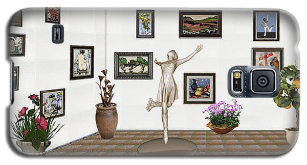 digital exhibition _ A sculpture of a dancing girl 12 Galaxy S5 Case