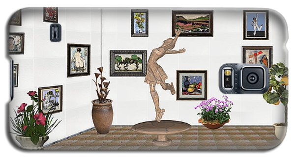 digital exhibition _ A sculpture of a dancing girl 14 Galaxy S5 Case