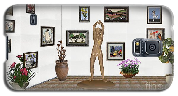 digital exhibition _ Statue of a Statue 23 of posing lady  Galaxy S5 Case