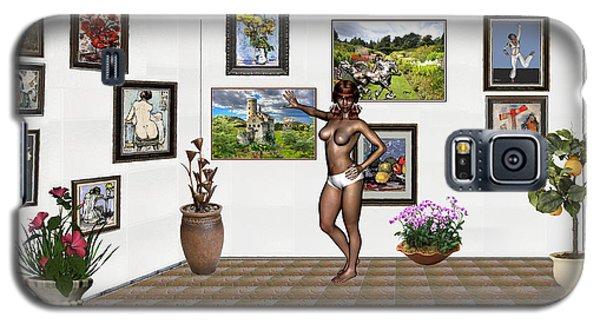 digital exhibition 32 _ posing  Girl 32  Galaxy S5 Case by Pemaro