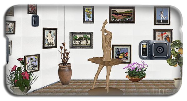 Digital Exhibition_statue Of My Dancing Girl Galaxy S5 Case