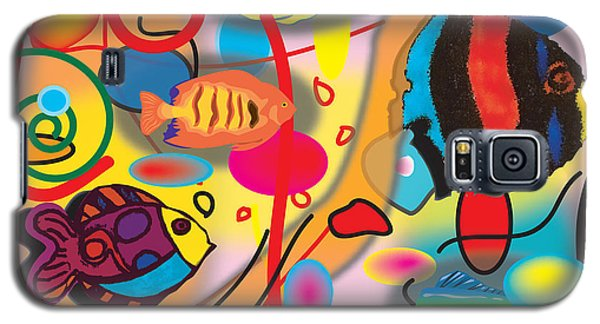 Digital Fish Galaxy S5 Case