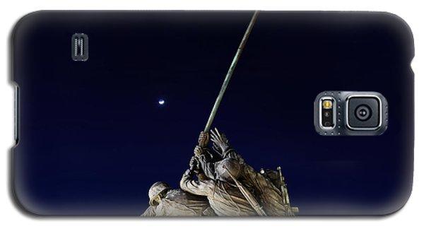 Digital Liquid - Iwo Jima Memorial At Dusk Galaxy S5 Case