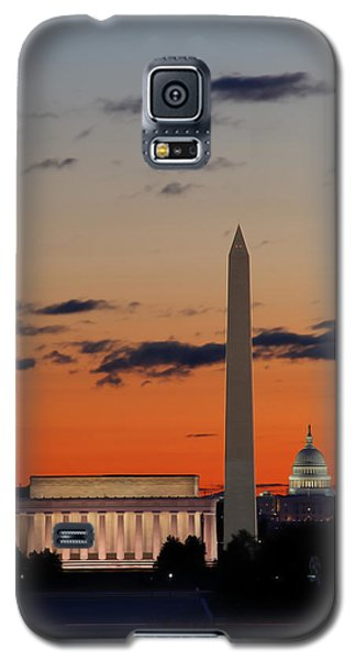 Digital Liquid -  Monuments At Sunrise Galaxy S5 Case