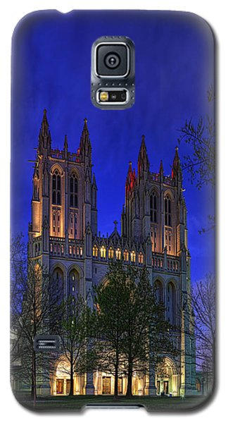 Digital Liquid - Washington National Cathedral After Sunset Galaxy S5 Case
