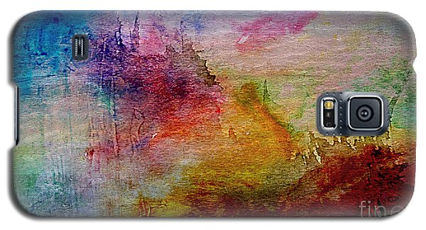1a Abstract Expressionism Digital Painting Galaxy S5 Case