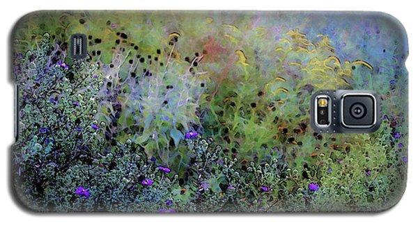 Digital Watercolor Field Of Wildflowers 4064 W_2 Galaxy S5 Case