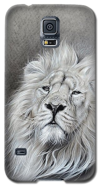 Galaxy S5 Case featuring the drawing Dignity by Elena Kolotusha