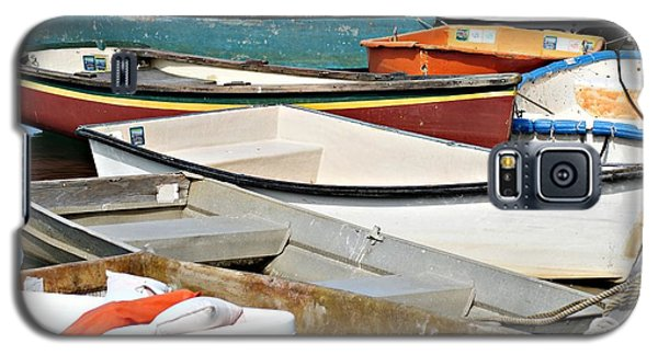 Dinghys At Bearskin Neck Galaxy S5 Case by Joe Faherty