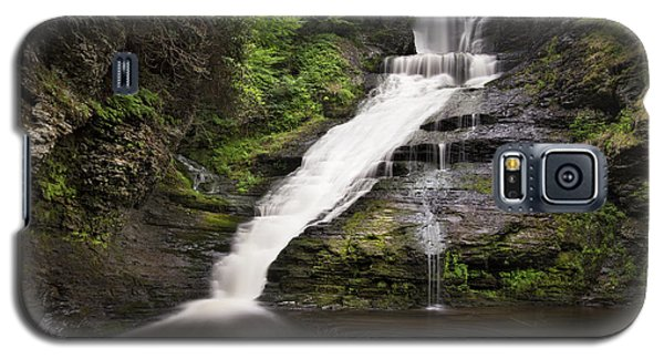 Galaxy S5 Case featuring the photograph Dingmans Falls by Yelena Rozov