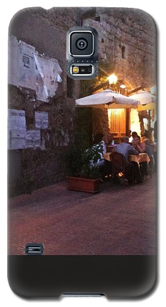 Dining In Tuscany Galaxy S5 Case by Carol Sweetwood