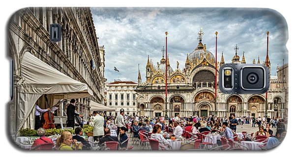 Dining On St. Mark's Square Galaxy S5 Case