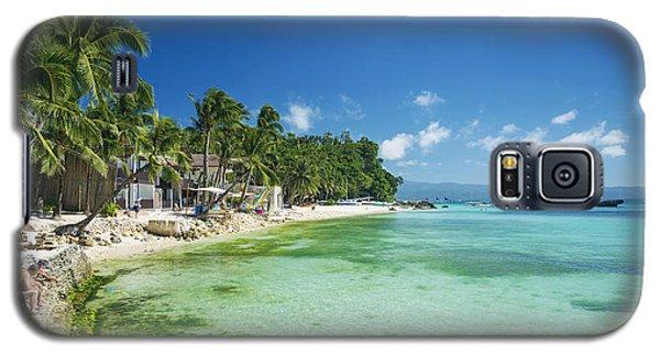 Diniwid Tropical Beach In Boracay Island Philippines Galaxy S5 Case