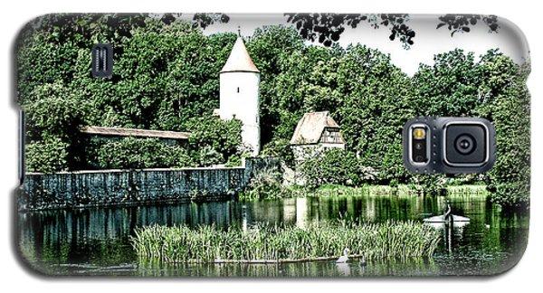 Dinkelsbuhl And Rothenburg Pond Galaxy S5 Case