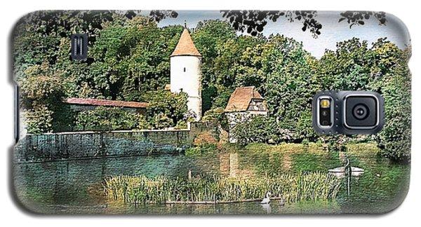 Dinkelsbuhl - Rothenburg Pond Galaxy S5 Case