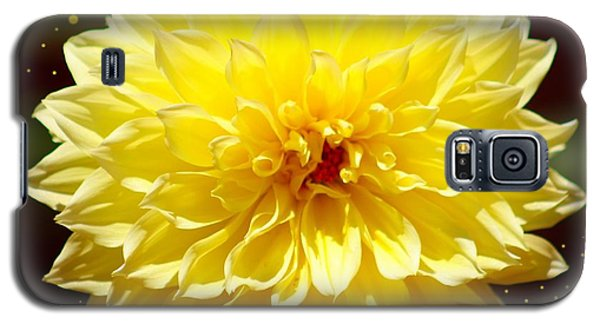 Dinner Plate Dahlia In Starry Sky Galaxy S5 Case