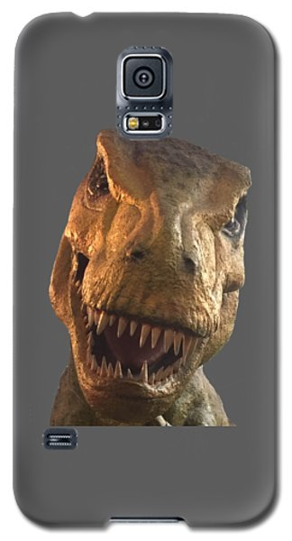 Dino Hello Galaxy S5 Case by Charles Kraus