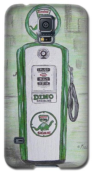 Dino Sinclair Gas Pump Galaxy S5 Case by Kathy Marrs Chandler