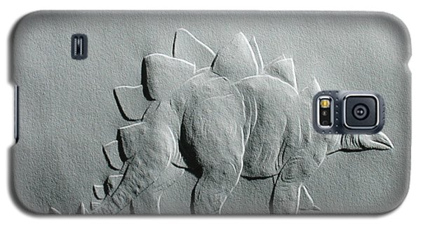 Galaxy S5 Case featuring the relief Dinosaur by Suhas Tavkar