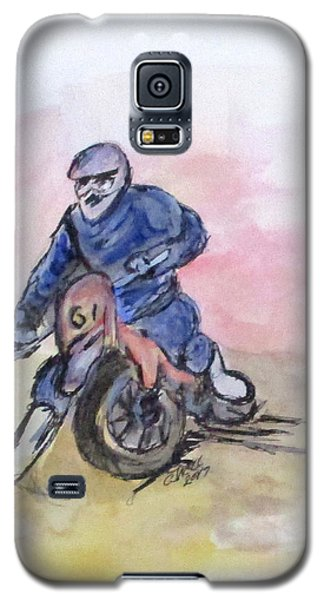Dirt Bike Racer Galaxy S5 Case