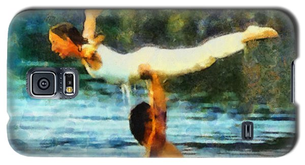 Galaxy S5 Case featuring the painting Dirty Dancing by Elizabeth Coats